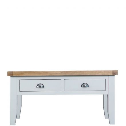 Toulouse White Large Coffee Table